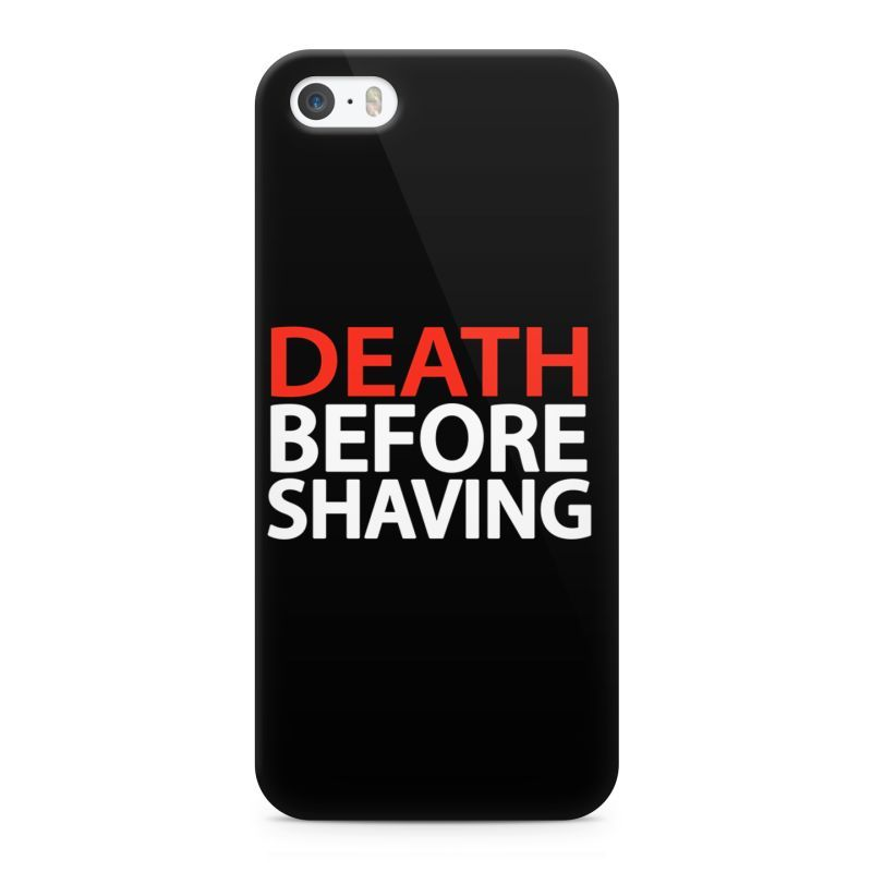 death before shaving mobile cover for apple iphone 5 5s beard india. Black Bedroom Furniture Sets. Home Design Ideas